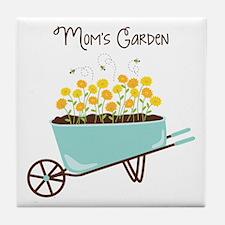 Moms Garden Tile Coaster