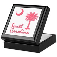 South Carolina Palmetto Keepsake Box