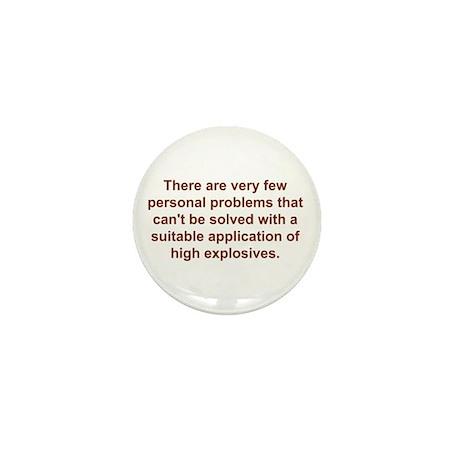 Personal Problems Mini Button