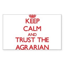 Keep Calm and Trust the Agrarian Decal
