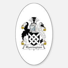 Harrington Oval Decal