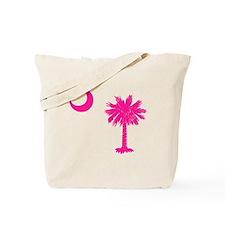 Palmetto and Crescent SC Tote Bag