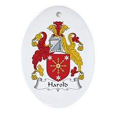 Harold Oval Ornament