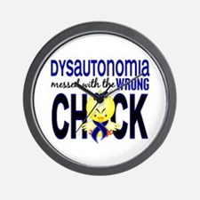 Dysautonomia Messed With Wrong Chick Wall Clock