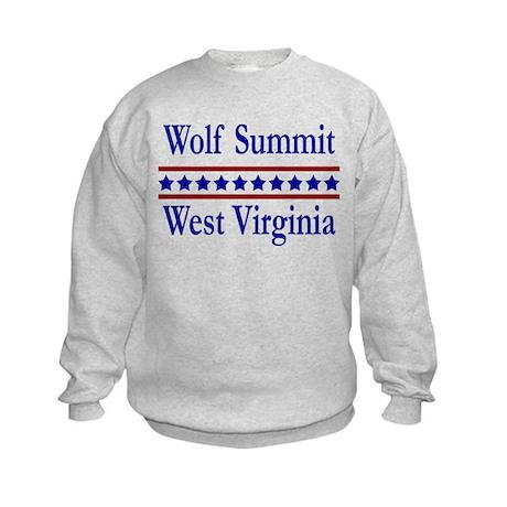 Wolf Summit WV Kids Sweatshirt