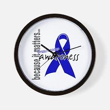 Awareness 1 Dysautonomia Wall Clock