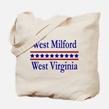 West Milford WV Tote Bag
