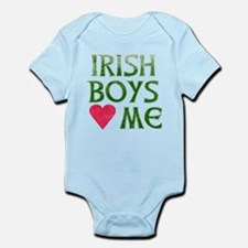 IRISH BOYS LOVE ME Infant Bodysuit