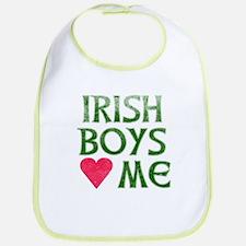 IRISH BOYS LOVE ME Bib