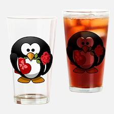 Penguin-Cartoon 001 Drinking Glass