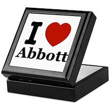 I love Abbott Keepsake Box