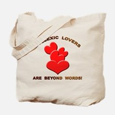 Dyslexic Lovers Tote Bag