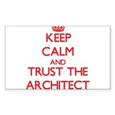 Keep Calm and Trust the Architect Decal