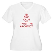 Keep Calm and Trust the Architect Plus Size T-Shir