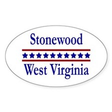 Stonewood WV Oval Decal