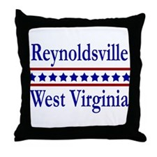 Reynoldsville WV Throw Pillow