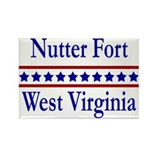 Nutter Fort WV Rectangle Magnet