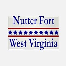 Nutter Fort WV Rectangle Magnet