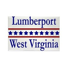 Lumberport WV Rectangle Magnet