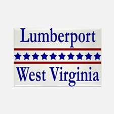 Lumberport WV Rectangle Magnet
