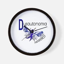 Butterfly 3.1 Dysautonomia Wall Clock