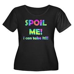 Spoil Me! I can take it Women's Plus Size Scoop Ne