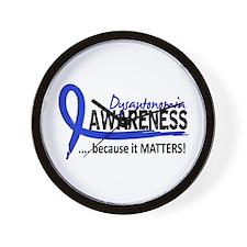 Awareness 2 Dysautonomia Wall Clock
