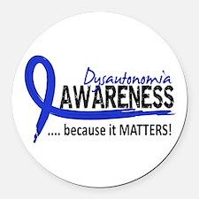 Awareness 2 Dysautonomia Round Car Magnet