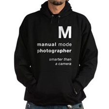 M = smarter than a camera Hoodie