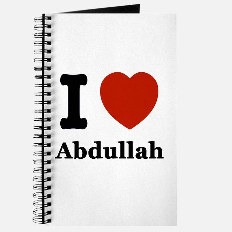 I love Abdullah Journal
