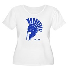 Greek warrior helmet Plus Size T-Shirt