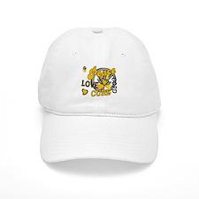 Peace Love Cure 2 COPD Baseball Cap