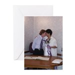 Wedding Kiss Greeting Cards (Pk of 10)