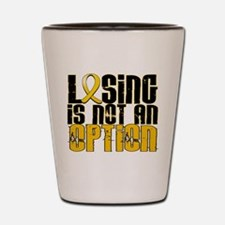 Losing Is Not an Option COPD Shot Glass