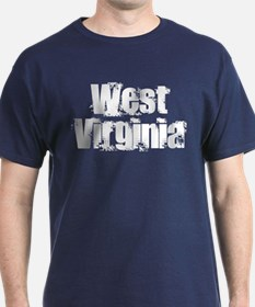 Distorted West Virginia T-Shirt