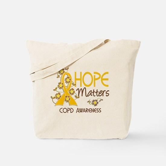 Hope Matters 3 COPD Tote Bag