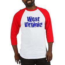 Distorted West Virginia Baseball Jersey