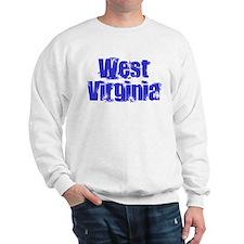 Distorted West Virginia Sweatshirt