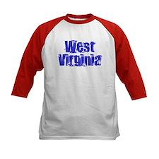 Distorted West Virginia Tee