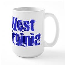 Distorted West Virginia Mug
