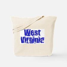 Distorted West Virginia Tote Bag