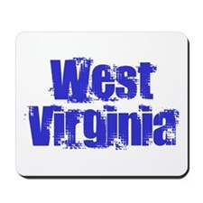 Distorted West Virginia Mousepad