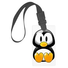 Penguin-Cartoon 002 Luggage Tag