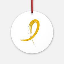 Graffiti Ribbon COPD Ornament (Round)