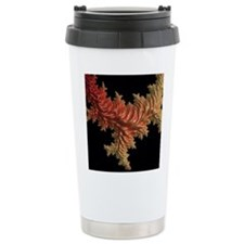 special fractal coral orange Travel Mug