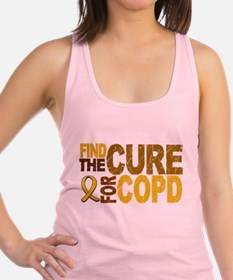 Find the Cure COPD Racerback Tank Top