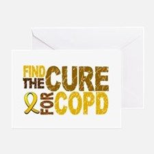 Find the Cure COPD Greeting Card