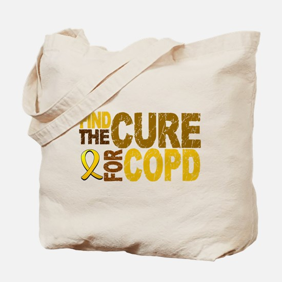Find the Cure COPD Tote Bag