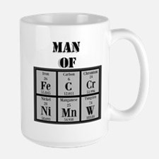 Man of Steel Periodic Elements Mugs