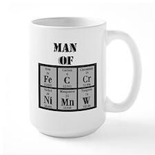 Man of Steel Periodic Elements Mugs